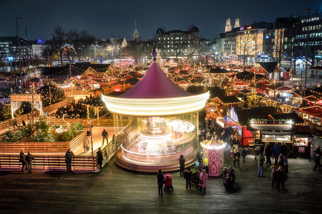 Zürich Wienachtsdorf | Christmas Market in Zürich www.sandro… | Flickr