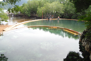 Coron - Maquinit hot springs dipping pools