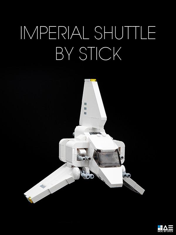 Chibi Imperial Shuttle Instructions Stickkimtistory Flickr