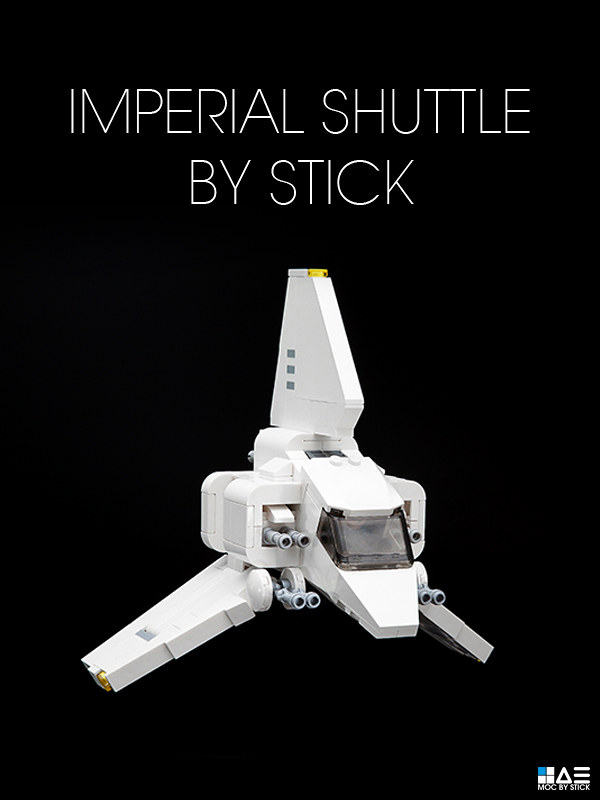 Chibi Imperial Shuttle Instructions Stickkimtistory Flickr