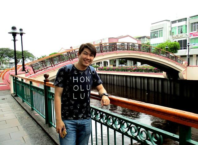 Nick at Lovers' Bridge