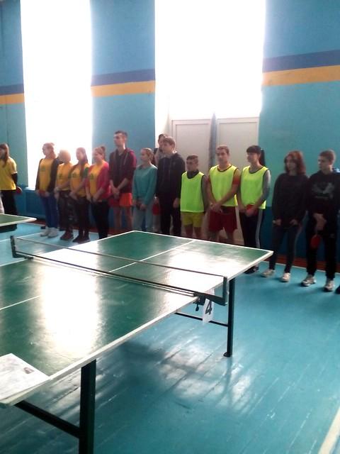 Обласні змагання. Теніс