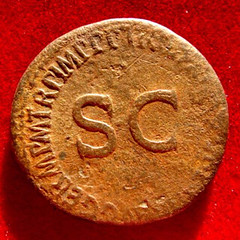 Germanicus Bronze reverse