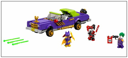 The LEGO Batman Movie 70906 The Joker Notorious Lowrider 00