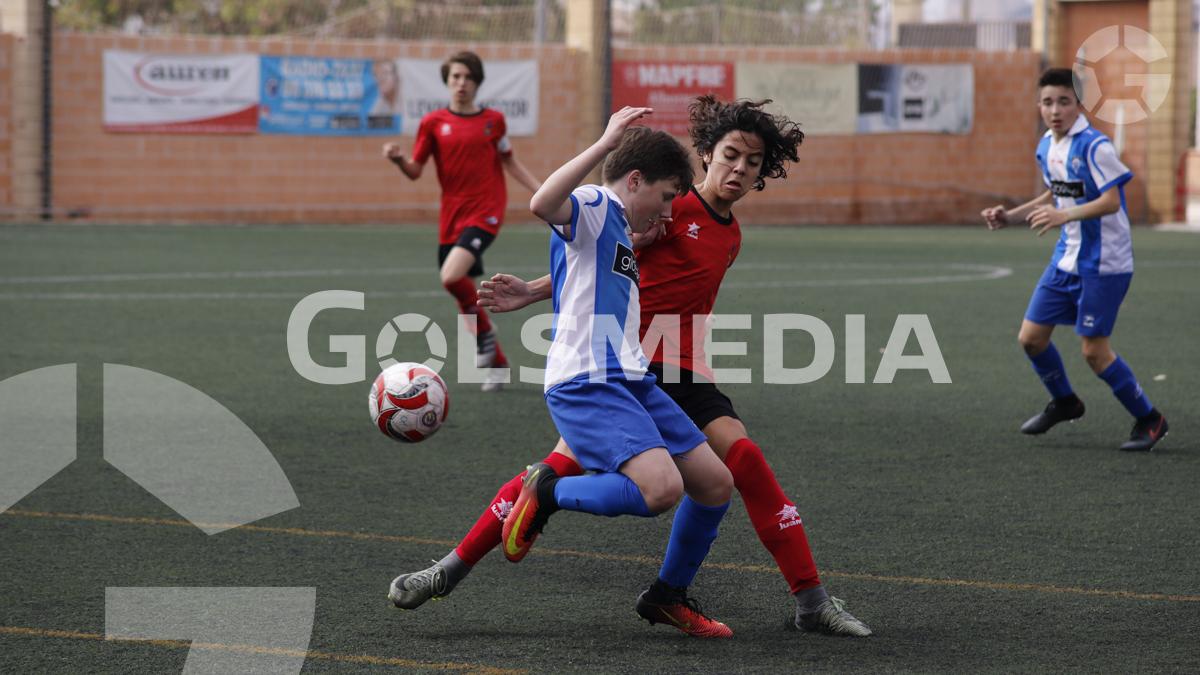 "Liga autonómica infantil Alboraya U.D. ""A"" - C.D. Alcoyano ""A"""