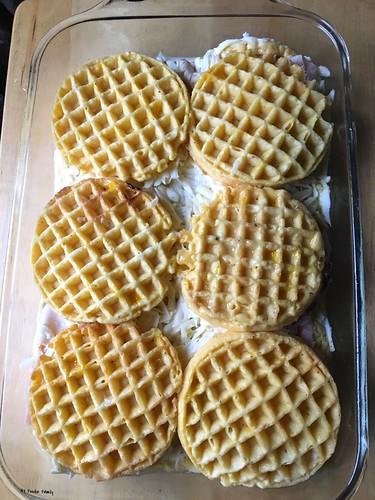 Monte Cristo Waffle Strata