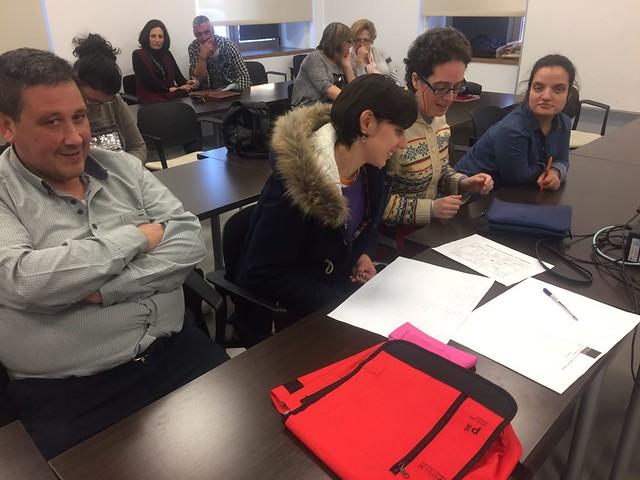 Últimas sesiones formativas del Curso CEE (Febrero de 2017)