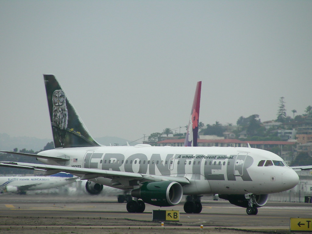 Frontier A318 N805FR | Frontier Airlines, based in Denver ...