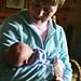 Nan and baby Lindsey