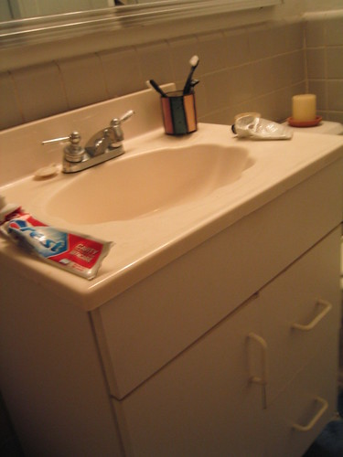 By The Opoponax Formica Sink Cabinet From Hell! | By The Opoponax
