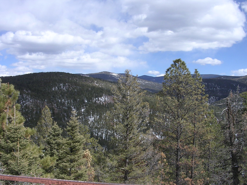 Mountain Scene In New Mexico Cubby T Bear Flickr