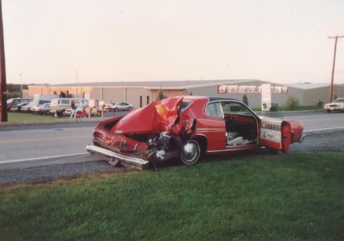 1st Car, 1976 Duster Sport Model | Funny thing: This happene ...