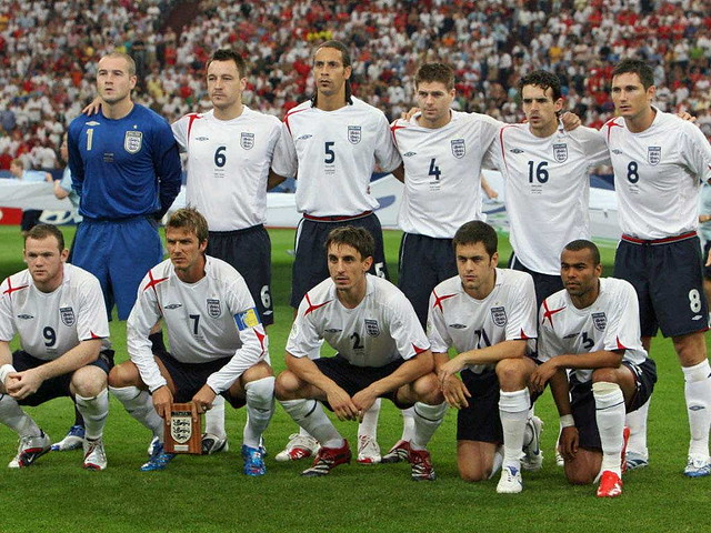 england squad world cup 2006 | Yokies