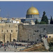 the Western Wall (HaKotel)and the Dome of the Rock, Jerusalem, Israel