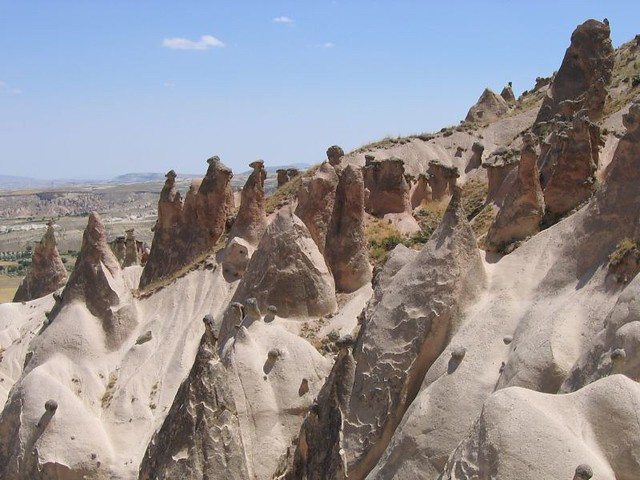 Fairy chimneys in Soganli Valley