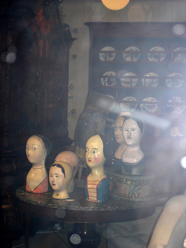 Weird Antique Mannequin Heads | by tomblessley