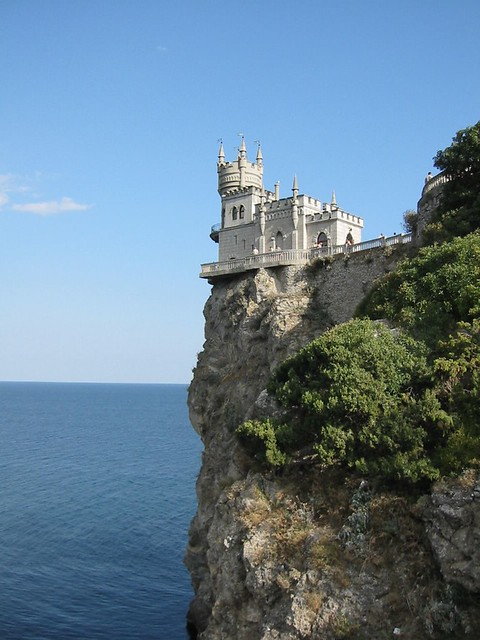 The Swallows Nest Castle On The Aurora Cliffs Of Cape A