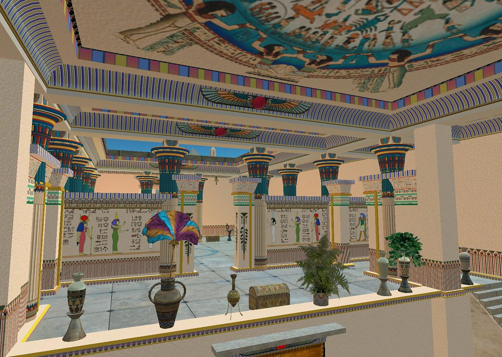Immersive archeology aura lily breathes life into the for Architecture design company in egypt