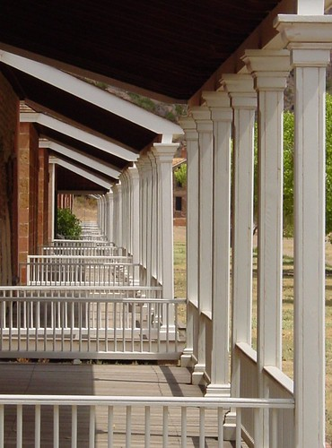 Row of Porches | by Karen Stroker