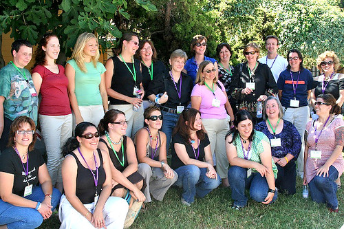 BlogHer 2006 Birds of Feather Food and Wine | by Elise Bauer