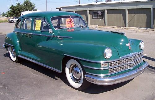 1947 Chrysler Windsor 1947 Chrysler Windsor Coeur D