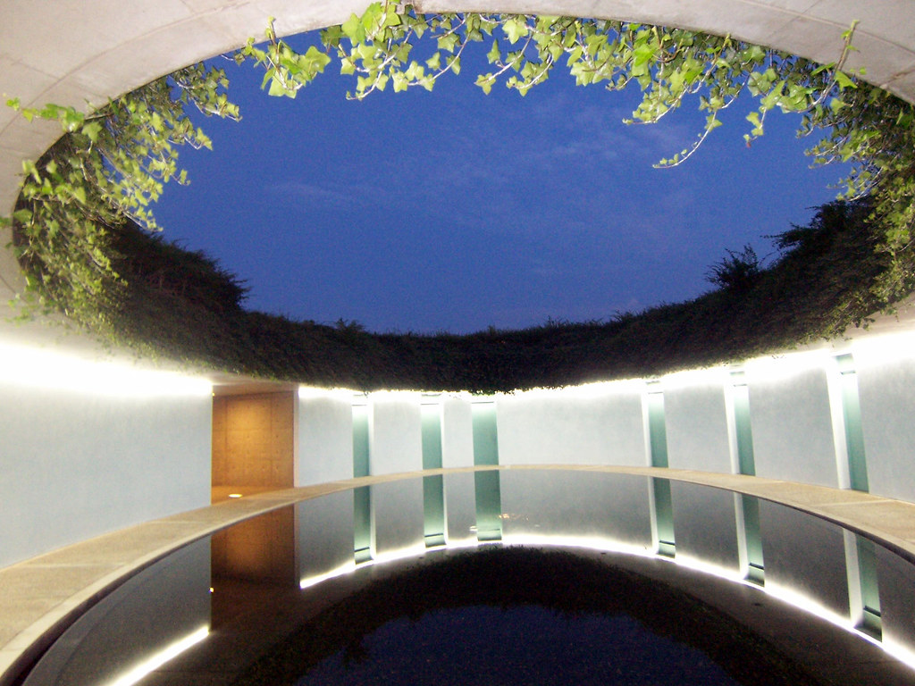The oval by tadao ando the oval is a small hilltop Architecture nature