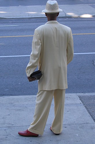 Man in white suit II | by athomson