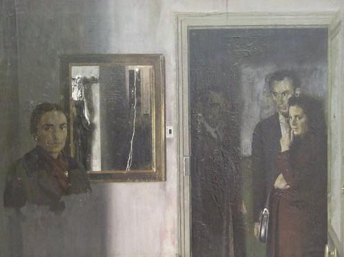 figuras en una casa 1967 antonio lopez garcia