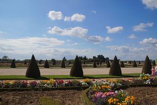077 Kasteel van Versailles tuinen