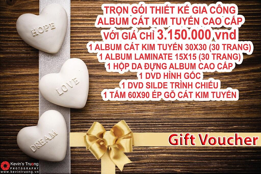 Bang gia Combo khuyen mai Gia cong Album