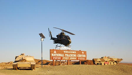 Ft. Irwin Entrance