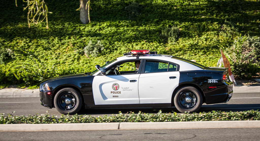 Lapd Dodge Charger Police Car Dedicated To Ventura