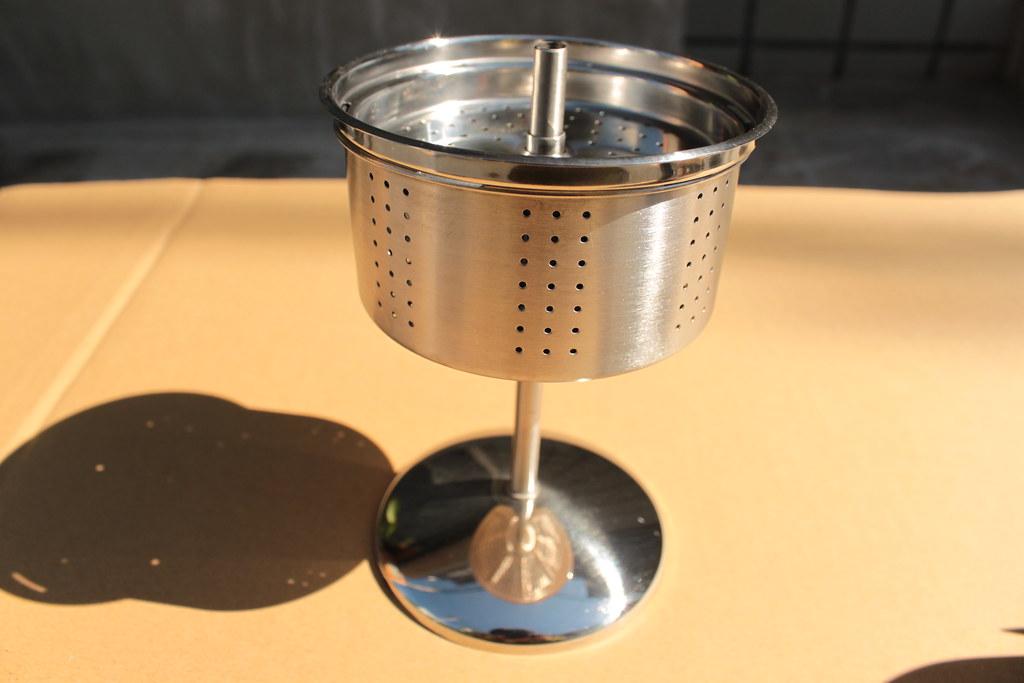 ジーエスアイーGSI ステンレスコニカルパーコレーター8カップ