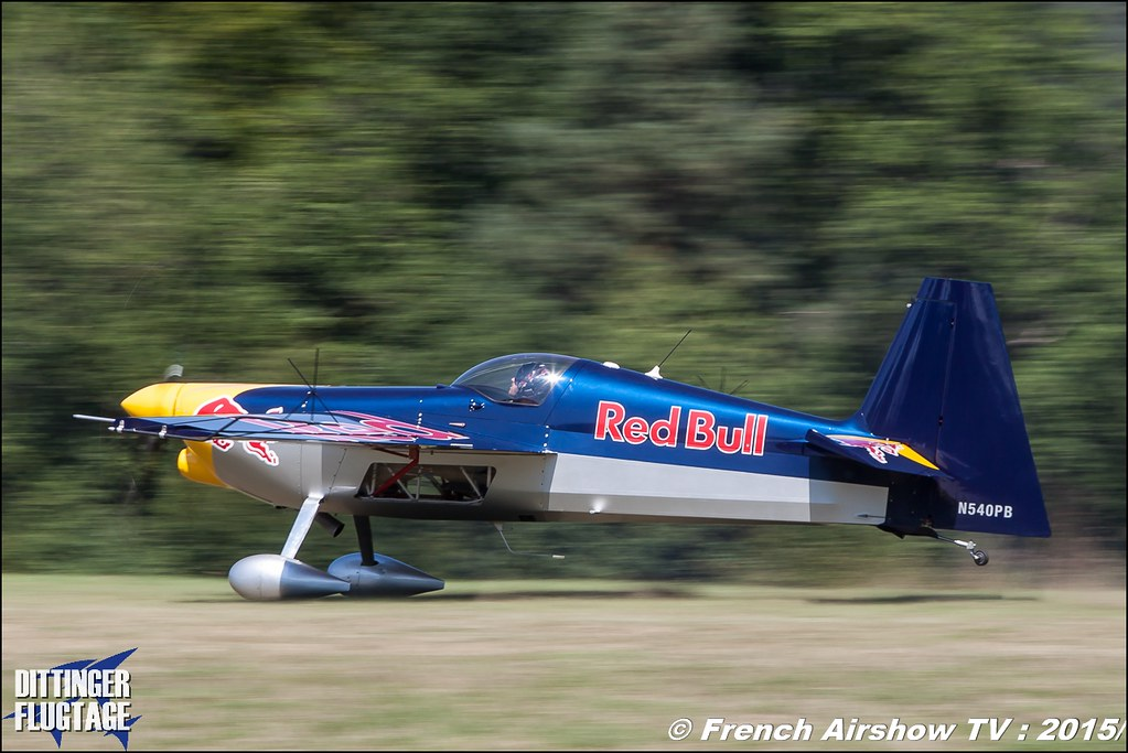 Zivko Edge 540 , N540PB , Red Bull , Red Bull - The Flying Bulls , Dittinger Flugtage 2015 , Internationale Dittinger Flugtage, Meeting Aerien 2015