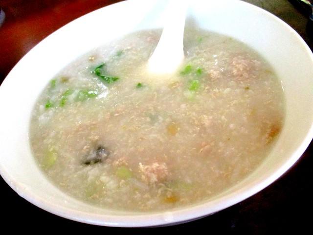 Opps meat porridge