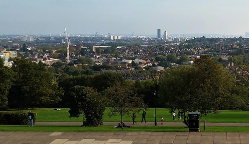 London from Alexandra Palace