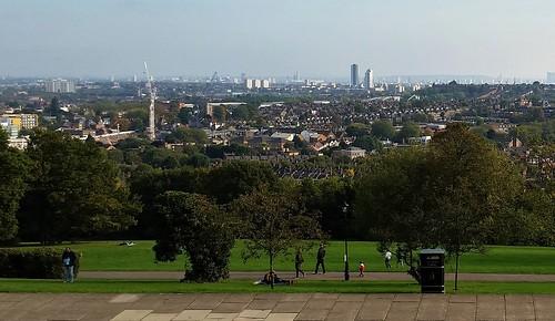 London from Alexandra Palace