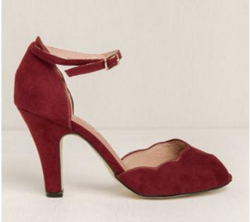 scalloped heels