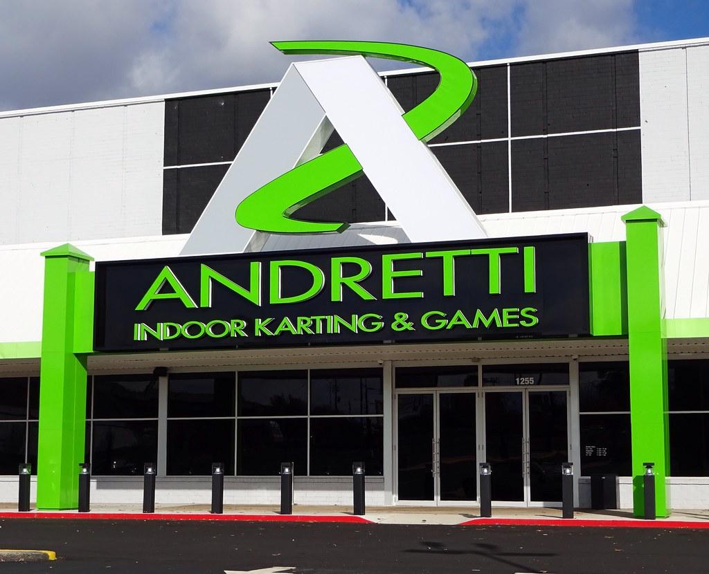 new andretti entertainment center marietta ga just open flickr. Black Bedroom Furniture Sets. Home Design Ideas