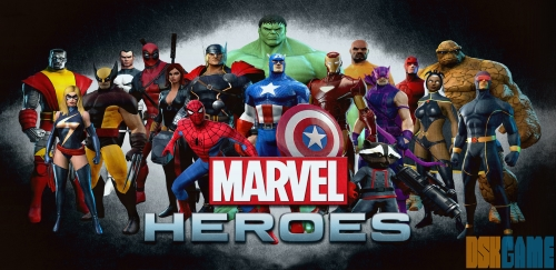 Marvel Heroes home