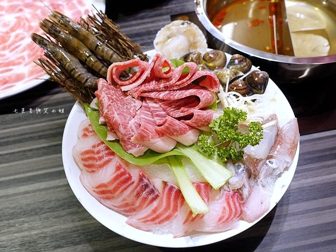 29 丰明殿 信義殿 超大肉盤 涮涮鍋 痛風海鮮盤