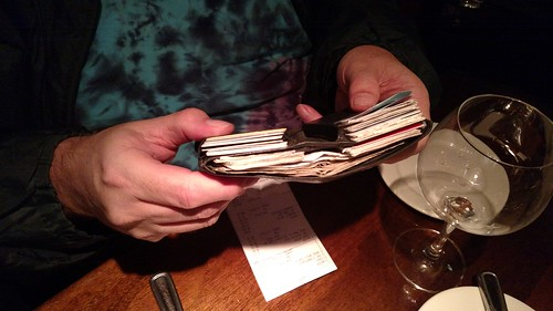 Steve Bishop's wallet 2017-02-21