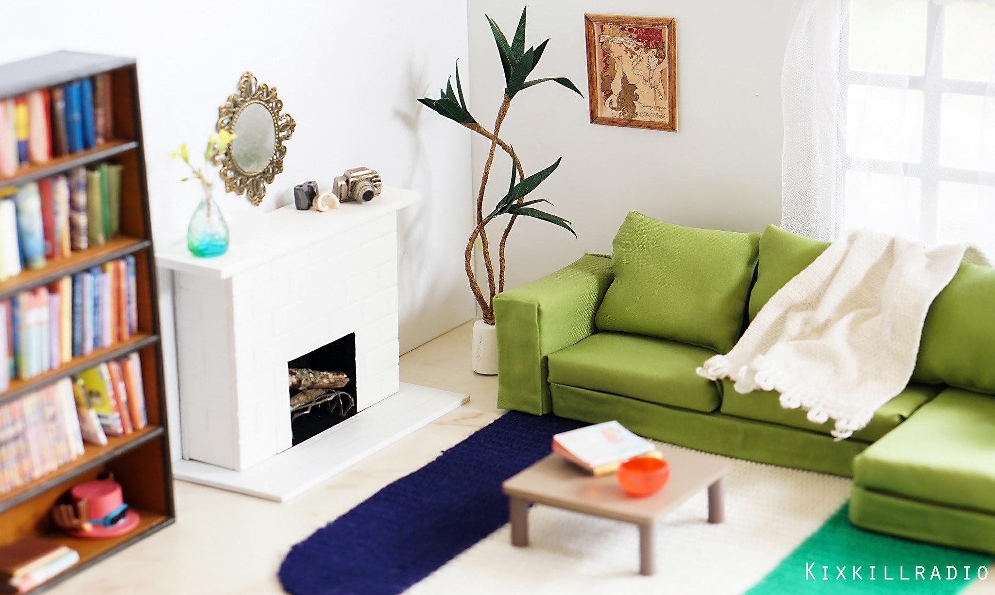 Miniature Living Room Set for Toy Photography – kixkillradio
