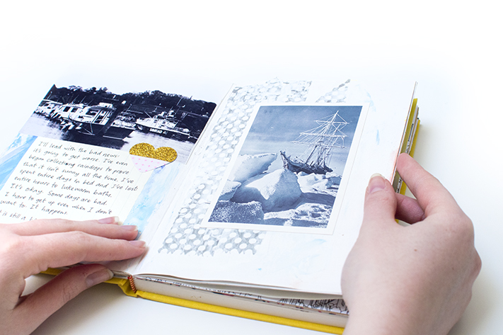 uk art journaling how to