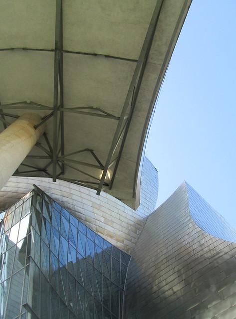 """Umbrella,"" Guggenheim Museum, Bilbao"