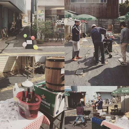 BBQ 準備しておりますよ #すきまBBQ #松陰神社前 #松陰神社通りのみの市