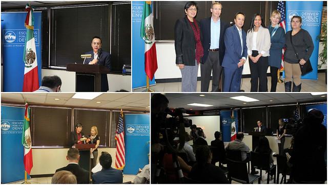El Consulado General de México y las Escuelas Públicas de Denver unen recursos para informar a la comunidad estudiantil.