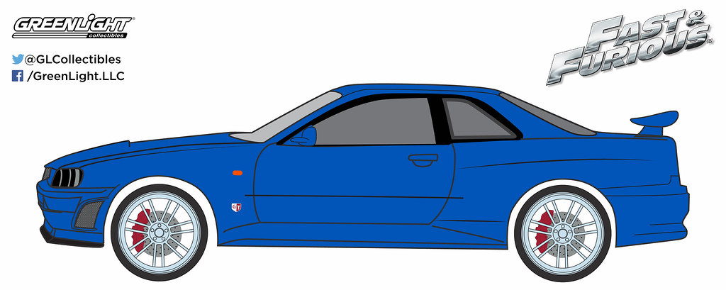 86219 1 43 Fast And Furious 2002 Nissan Skyline Gt R Flickr