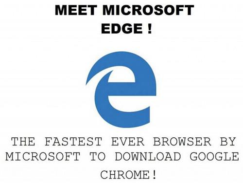 Браузер Microsoft Edge провалился