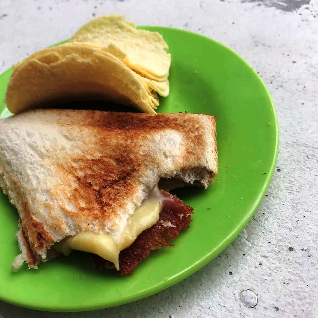 ham and cheese brekkie